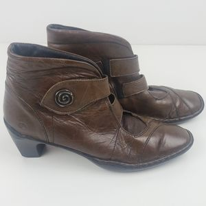 Joseph Seibel brown ankle boots size 40